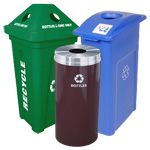 Recycling Bins for Bottles & Cans