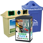 Custom Recycling Containers