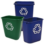 Rubbermaid Deskside Bins