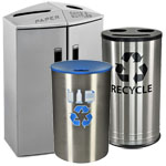 Recycling Bins for Lobbies and Meeting Rooms