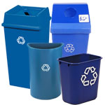 Plastic Recycle Bins