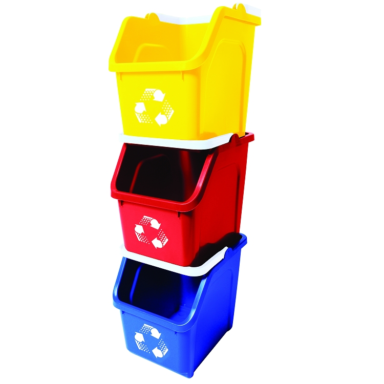 Image Result For Red Garbage Cans