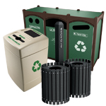 Recycling and Trash Cans