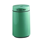 15-Gallon Round Recycling Container for Cans