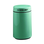 15-Gallon Round Recycling Container for Paper