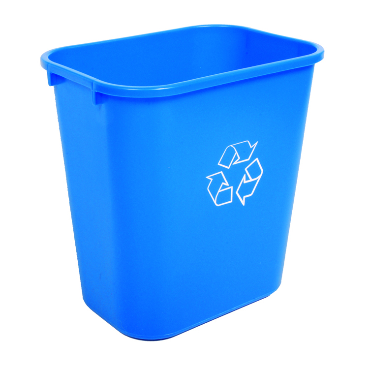 Waste Baskets : Recycling & Waste Baskets, 28 Quart  Recycle Away
