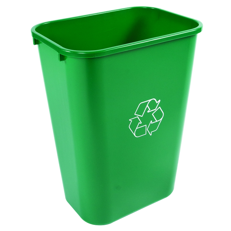 41 quart office recycling bin recycle away. Black Bedroom Furniture Sets. Home Design Ideas