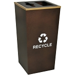 Metro XL Combo Recycling Receptacle