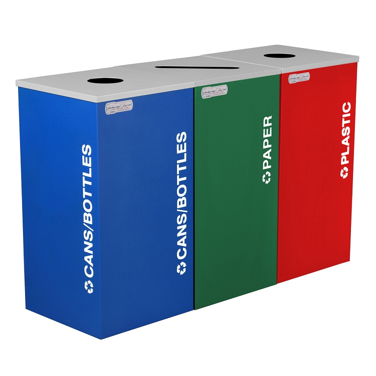 Bins for recycling waste and recycling bins recycle away - Recycle containers for home use ...
