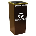 Metro Single Stream Recycling Receptacle