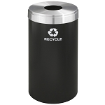 Glaro 23-Gallon VALUE SERIES Single-Purpose Recycling Container