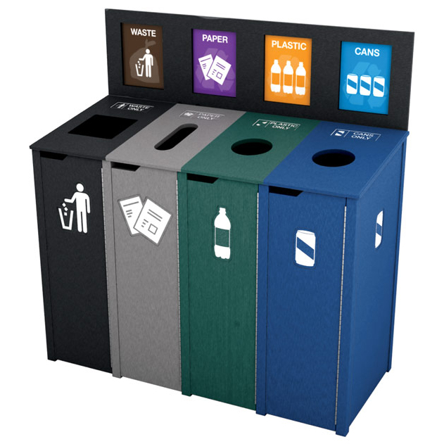 Image Result For Outdoor Recycle Bins