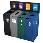 The Chesterfield Quadruple Recycling Station