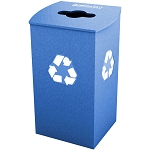 Claremont Single Recycling Container