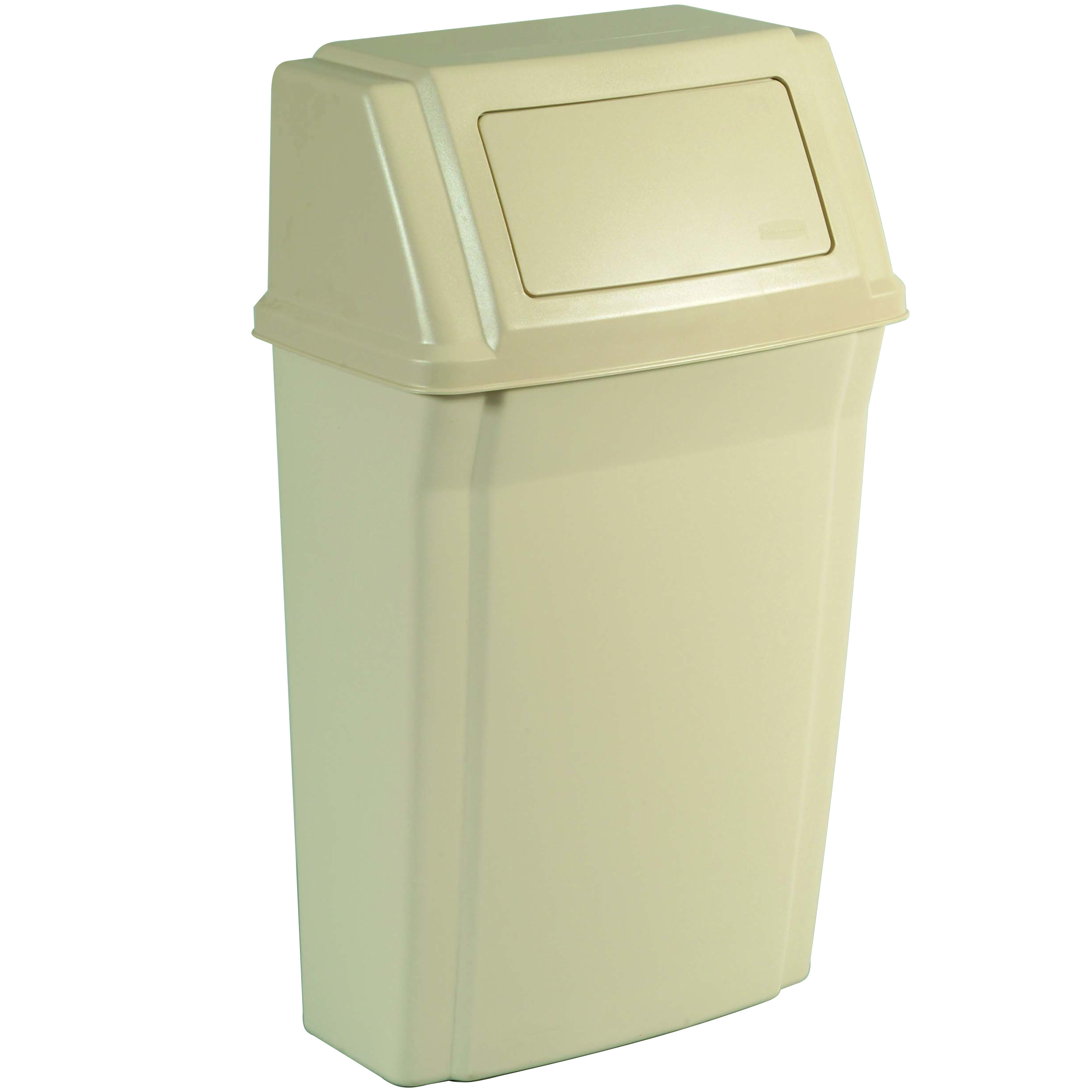 15 Gallon Rubbermaid Slim Jim Wall Mounted Trash