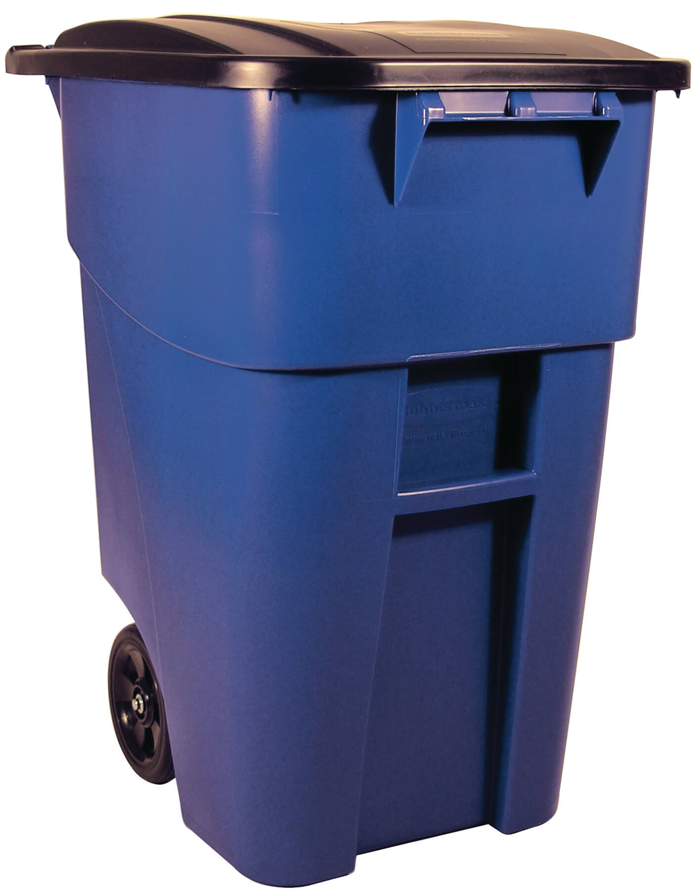 Brute 50 gallon rollout container w lid recycle away
