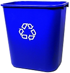 Rubbermaid Medium Deskside Recycling Container