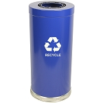 The Recycle Cylinder Single-Stream 24 Gallon
