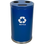 The Recycle Cylinder Three-Stream 33 Gallon