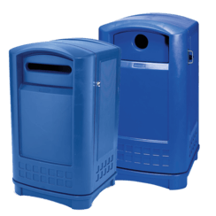 Plastic Recycling Bins