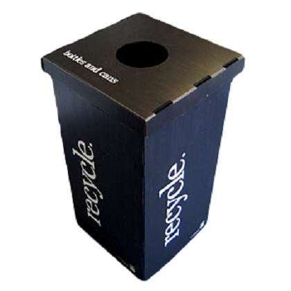 Light Weight Corrugated Plastic Recycling Containers