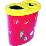 Kidz Dual Sort Recycling Container