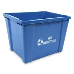 21-Gallon Curbside Recycling Bin