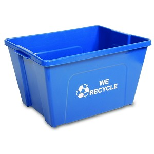 18-Gallon Curbside Recycling Bin