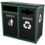 Keene Sideload Double Recycling Station