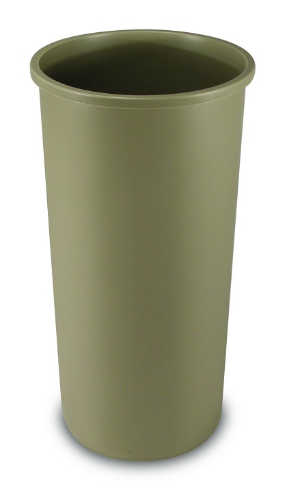 22 Gallon Tall Rubbermaid Untouchable Commercial Round