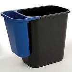 Rubbermaid Wastebasket Recycling Side Bin