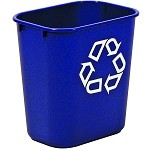 Rubbermaid Small Deskside Recycling Container
