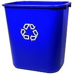 Medium Deskside Recycling Container