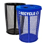 Expanded Metal Recycling and Waste Combo