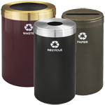 Recycling Containers in Designer Colors