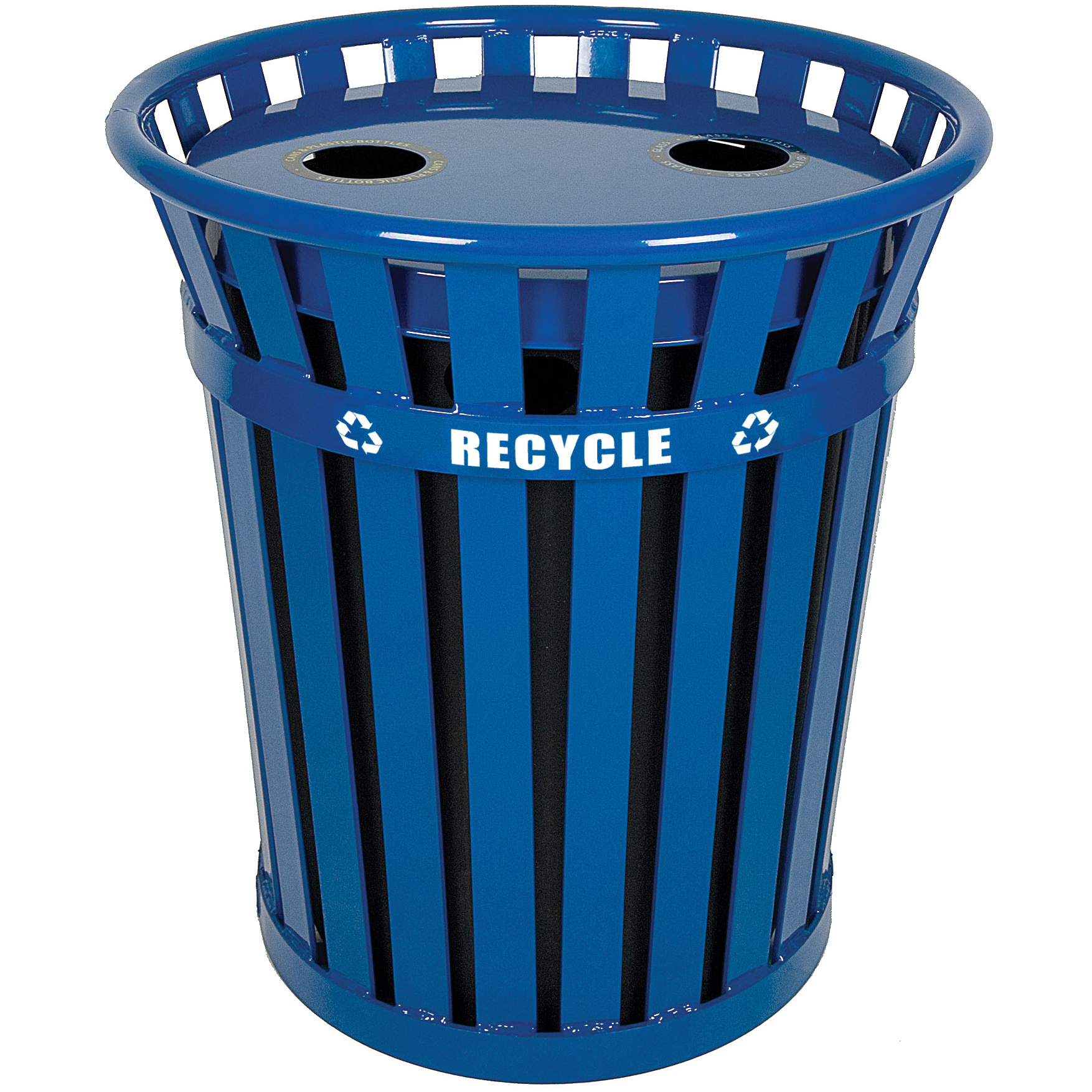 wydman 36 gallon recycling container - Outdoor Trash Cans