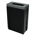 The 23 Gallon Evolve Cube Slim in Black