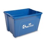 16-Gallon Curbside Recycling Bin