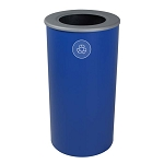 The 20 Gallon Spectrum Round Recycling Bin
