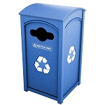 Amherst Sideload Single Recycling Container