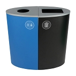 Spectrum Two-Stream Double Ellipse Recycling Station - Custom