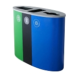 Spectrum Ellipse-Slim-Ellipse Recycling Station - Custom