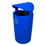 The Euro 36 Gallon Canopy Recycling Container