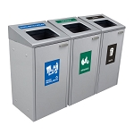 The  Ikona Waste & Recycling Triple Station