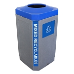 The Octo 32 Gallon Indoor Recycling Container