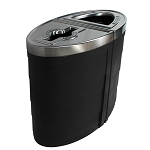 Evolve Two-Stream Double Ellipse Recycling Station