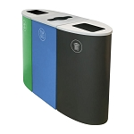 Spectrum Three-Stream Recycling Station - Custom