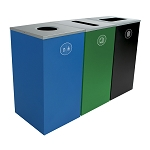 Spectrum Three-Stream Triple Cube Recycling Station