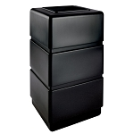 38-Gallon Three-Tier Waste Container