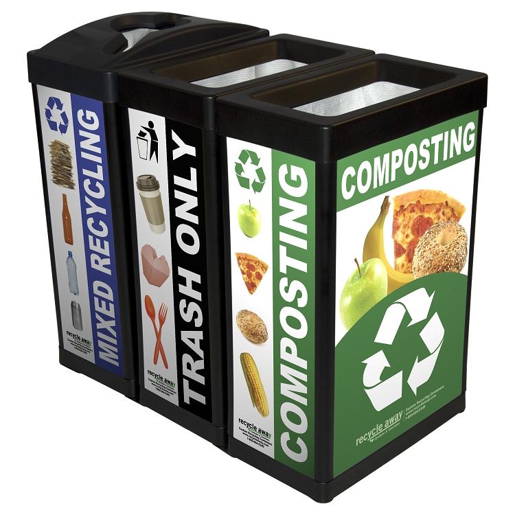 ErgoCan Plastic Composting Container